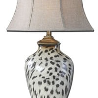 Malawi Cheetah Print Table Lamp by Uttermost