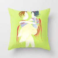 Disney - Snow White Throw Pillow by Jessica Slater Design & Illustration