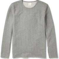 Jean.Machine Loopback Cotton-Jersey Sweatshirt | MR PORTER
