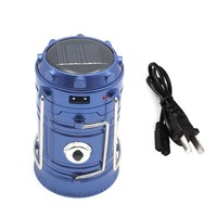 Portable Solar Charger Camping Lantern Lamp LED Outdoor