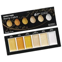 Starry Colors Watercolor Set of 6