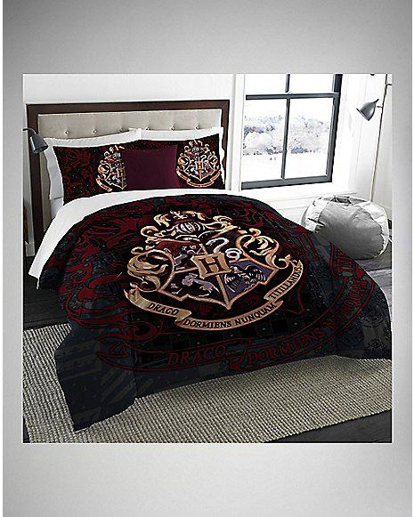 Harry Potter Twin Full Comforter Amp Sham From Spencers Gifts