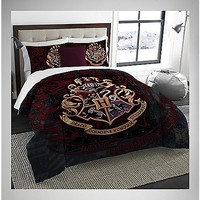 Harry Potter Twin/Full Comforter & Sham Set - Spencer's