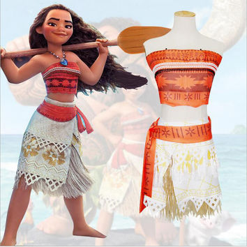 Princess Moana Costume for Kids Halloween Costume
