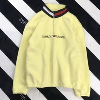 Tommy Hilfiger Woman Men Fashion Cashmere Zipper Top Sweater Pullover2
