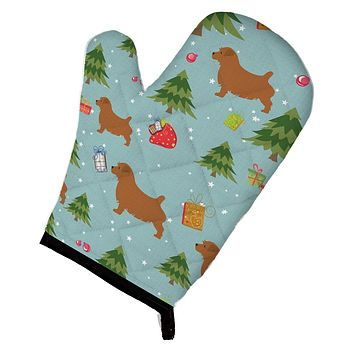 Christmas Norfolk Terrier Oven Mitt BB4833OVMT