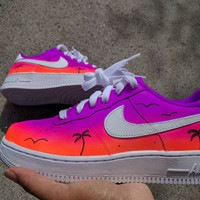 Custom Sunset Air Force 1 Low