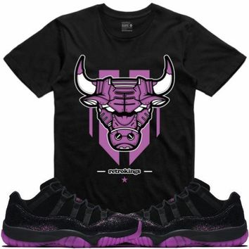 Air Jordan 11 Fuchsia Rook Queen Sneaker Tees Shirt - LEATHERFACE RK