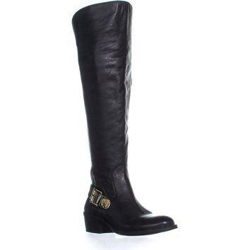 Vince Camuto Bedina2 Riding Boots, Black, 6.5 US