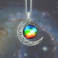 Star Gemstone Necklace-8 (Photo Color)