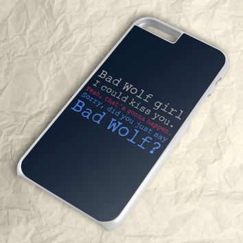 Doctor Who Bad Wolf iPhone 6 Plus Case