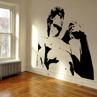 Vinyl Wall Decal Sticker Michelangelo's David #AC178