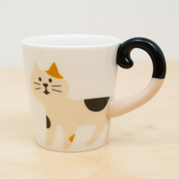 Happy Cat Day Calico Tall Mug