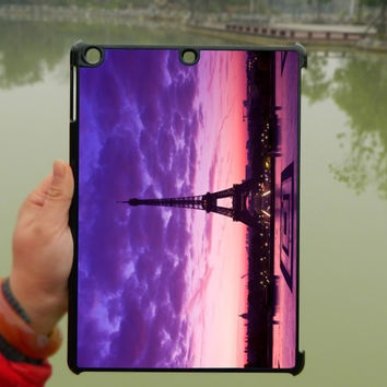 Amazing Eiffel Tower Purple Sky iPad Case,iPad mini Case,iPad Air Case,iPad 3 Case,iPad 4 Case,ipad case,ipad cover, ipad mini cover ipad air,iPad 2/3/4-020