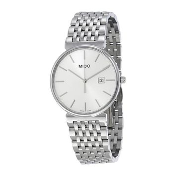 Mido Dorada Silver Dial Ladies Watch M0096101103100