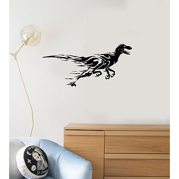Vinyl Wall Decal Funny Dinosaur Kids Boys Room Decoration Interior Art Stickers Mural (ig5984)