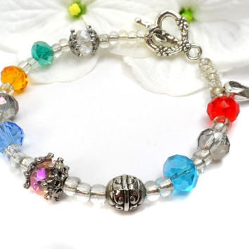 Cancer Survivor Gift, Bracelet, Cancer Awareness Month, Choose Hope  D9