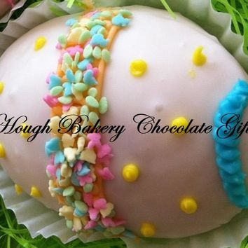 Easter Mini Assorted Yellow Chocolate Cakes