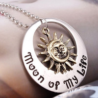 Game Of Thrones Pendant Moon Of My Life Sun Star Necklace