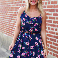Down Right Floral Dress