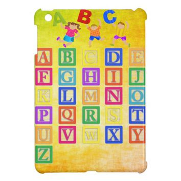 Block Letters iPad Mini Cases