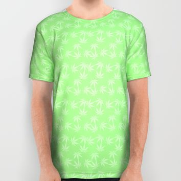 WEED All Over Print Shirt by Oksana Smith