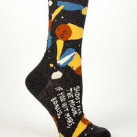 Shoot For The Moon, If You Hit Mars, Bonus Socks