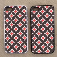 Cute Abstract Geometric Pattern iPhone Case, iPhone 5 Case, iPhone 4S Case, iPhone 4 Case - SKU: 160