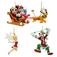 Disney Mickey Mouse and Friends Ornament Set - Holiday | Disney Store