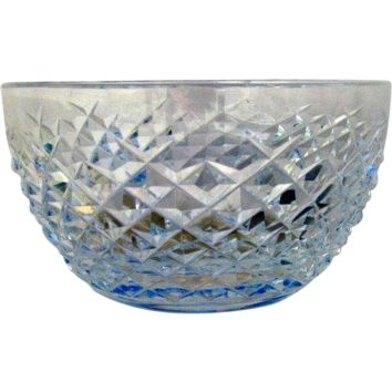 Waterford Crystal Ireland Alana Pattern Finger Bowl