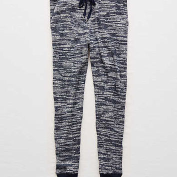 Aerie Textured Jogger , Navy