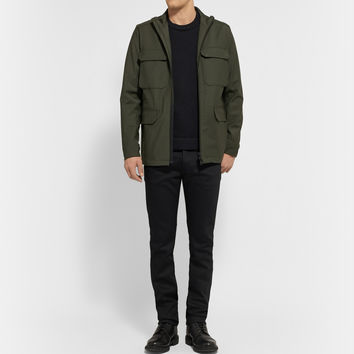 Theory - Durant Coated Wool-Blend Field Jacket | MR PORTER