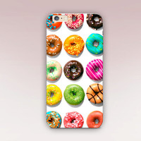 Donut Phone Case For - iPhone 6 Case - iPhone 5 Case - iPhone 4 Case - Samsung S4 Case - iPhone 5C - Tough Case - Matte Case - Samsung