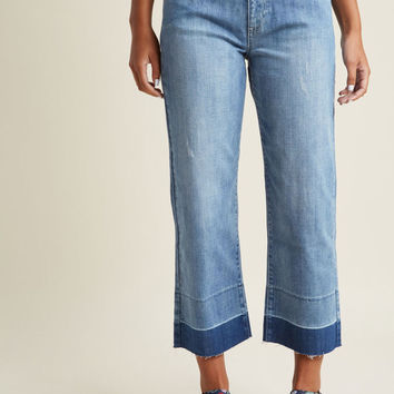 As Cool as They Come Cropped Jeans