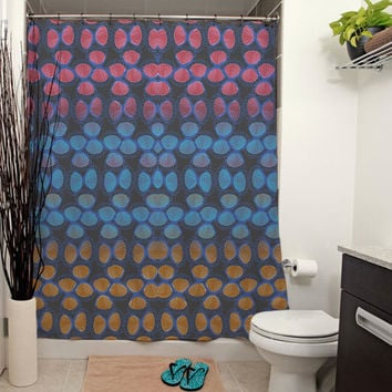 Candy Wrap, Licorice Shower Curtain