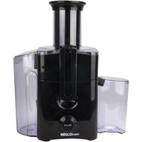 Nesco BH3337 Electric Kitchen Power Fruit/Vegetable Juicer Extractor Black - Walmart.com