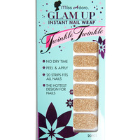 Glam Up Instant Nail Wrap - Gold