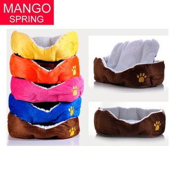 Warm Cozy Puppy Dog Cat Kitten Pet Bed Pad Cushion Basket Sofa Couch Mat products for animals dog bed Free Shipping