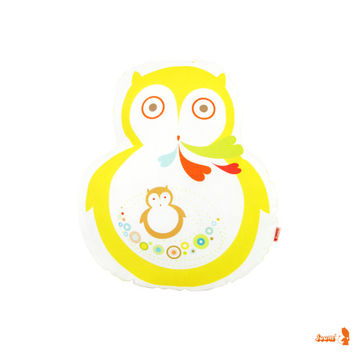 Limited Edition Mama Owl Plush Pillow