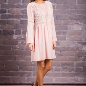 See You In My Dreams Dress, Blush