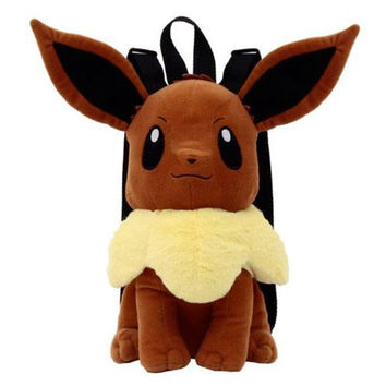Pokemon Eevee 17-Inch Plush Backpack