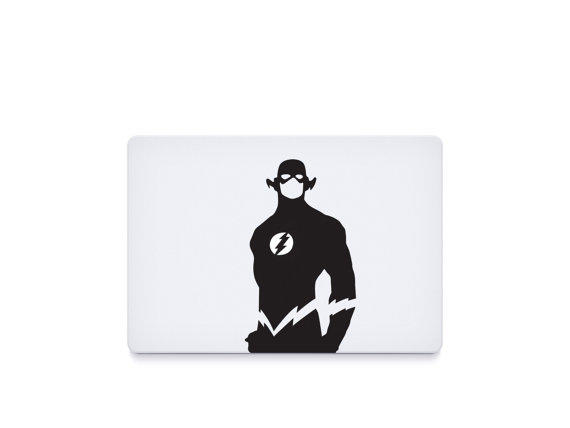 The flash macbook decal macbook sticker mac decal mac sticke