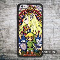 The Legend Of Zelda Stained Glass High Quality Cell Phone Case For iPod 5 and For iPhone 6 6 Plus 5 5s 5c 4 4s