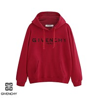 Givenchy sells casual hoodies with stylish monogrammed hoodies White