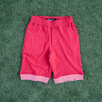 Play Cloths Josiah Sweatshorts - Red