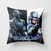 Robocop Throw Pillow by Store2u