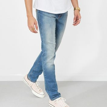 Nudie Jeans Co Lean Dean Rebel Blues Jeans Blue
