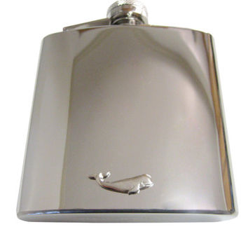 Whale 6 oz. Stainless Steel Flask