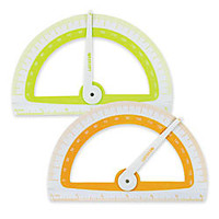 Westcott Student Protractor With Microban Antimicrobial Product Protection by Office Depot