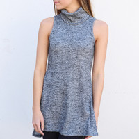 Pretty Girl Turtleneck {Gray}